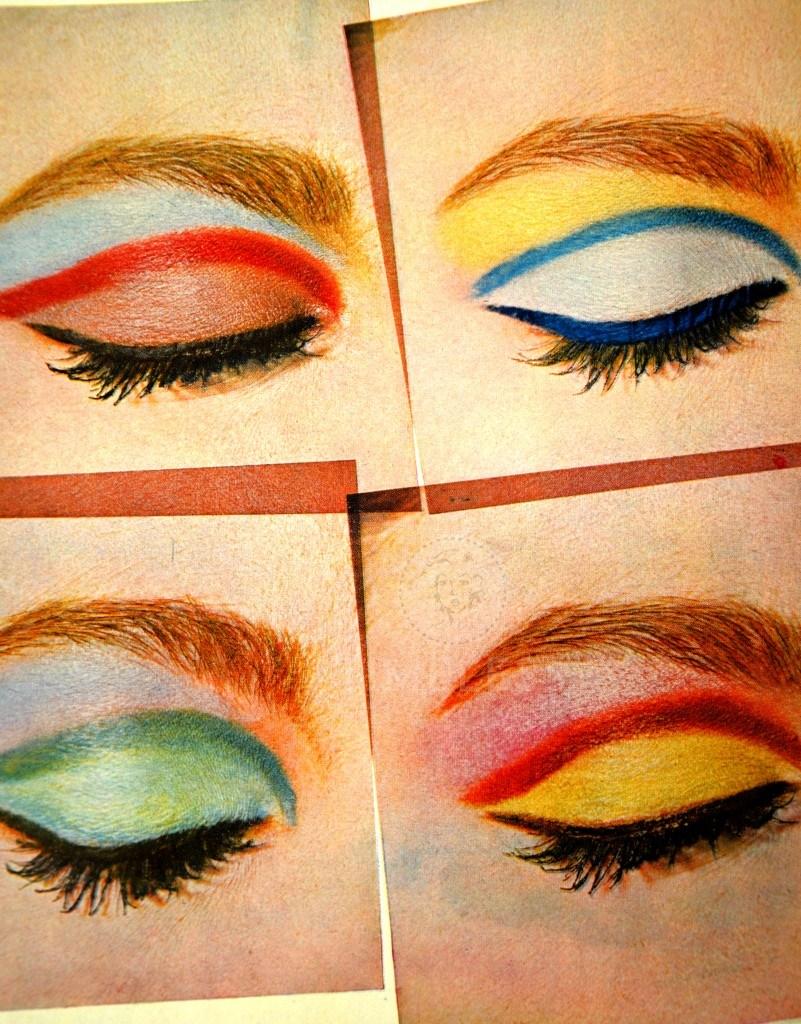 Trucco occhi anni 60